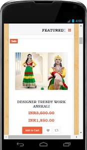IndianDesignerHouse screenshot 1