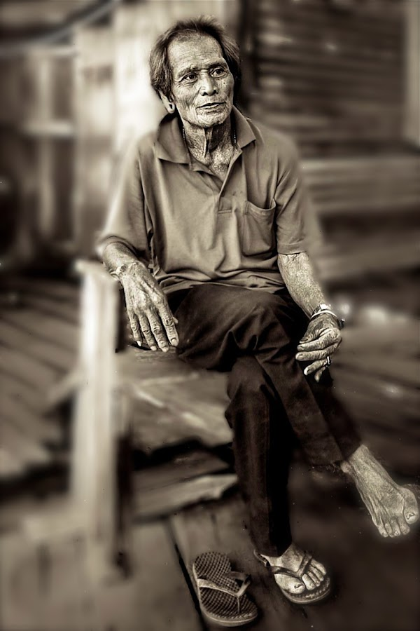 Humble Man by Kenny Lee - People Portraits of Men
