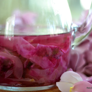 How To Make Homemade Lavender and Rose Simple Syrups