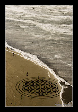 Photo: 'Flower of Life', All the elements coming together! Ocean Beach, SF.