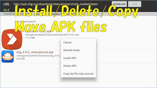 Smart TV APK downloader  screenshots 2