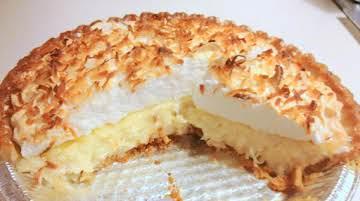 Grammie's Coconut Pie