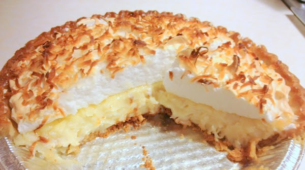 Grammie's Coconut Pie Recipe