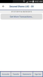 UPenn SFCU Mobile Banking screenshot 2
