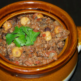 Meaty Portobello Chili