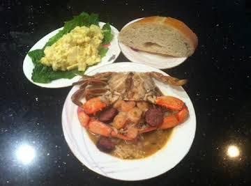 Cajun Chicken Sausage Shrimp & Crab Gumbo