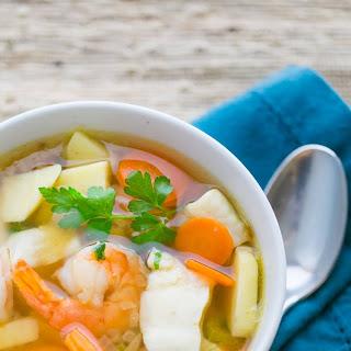 Shrimp and Fish Soup (Ukha) Recipe