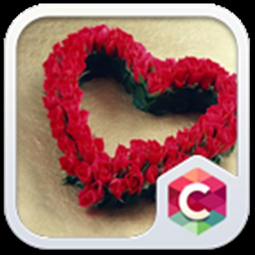 Roses Heart Theme C Launcher