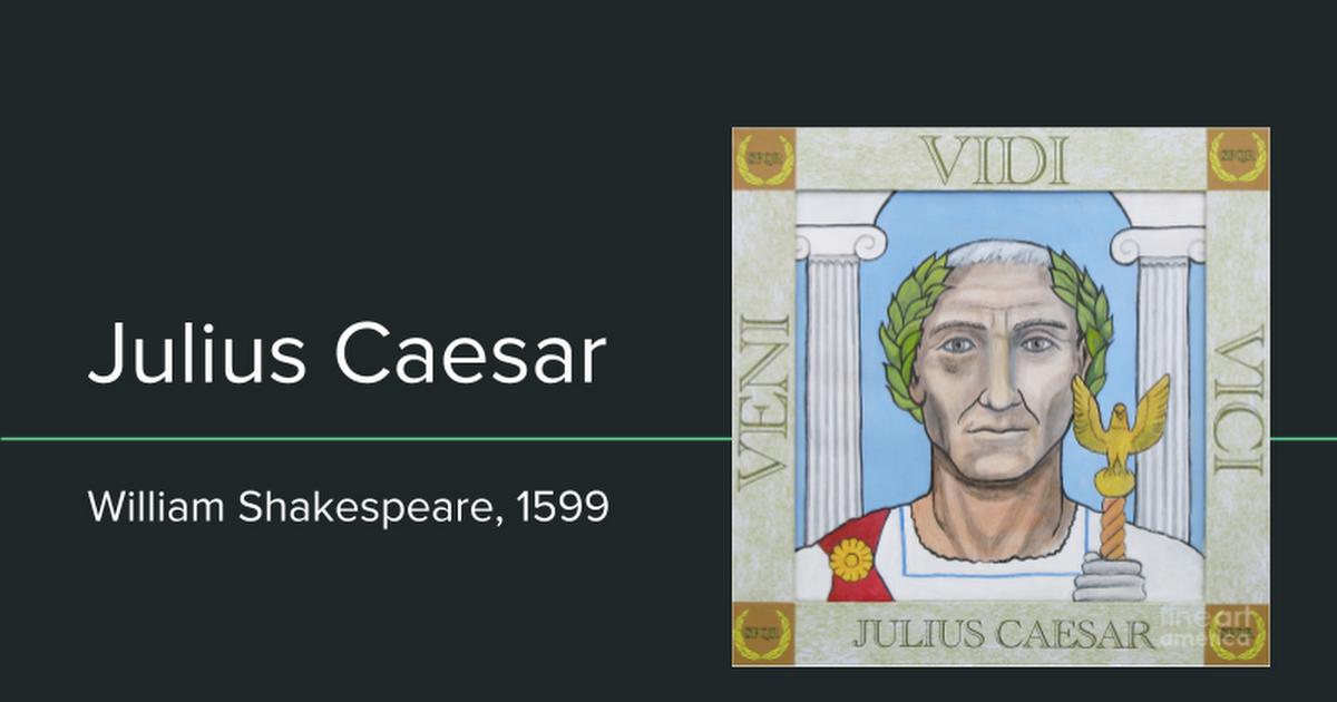 Julius Caesar Google Slides
