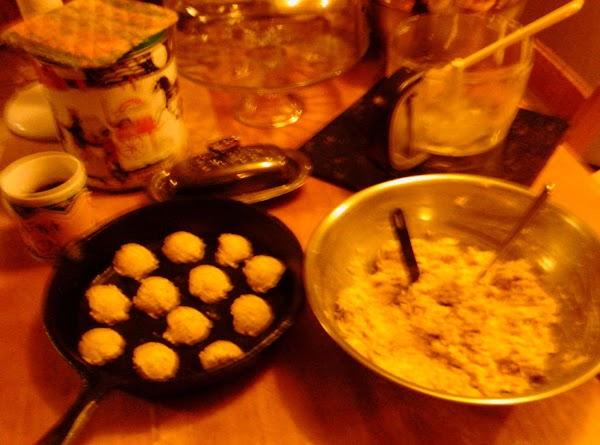 Savory White Bean Oat Unleavened Drops Recipe