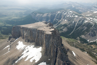 Photo: Photo courtesy of Sam Beebe and Ecotrust - looking south. The summit is on the north end (closest to the photographer's vantage point).