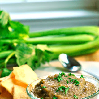 Roasted Eggplant and Lentil Dip