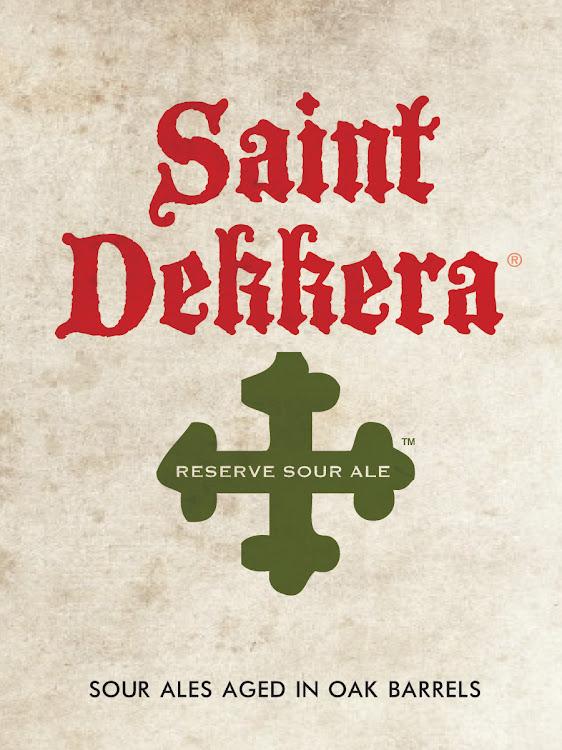 Logo of Destihl Brewery Saint Dekkera Reserve Sour: Excommunie Trois Pomme