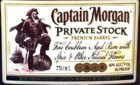 Logo for Captain Morgan Private Stock