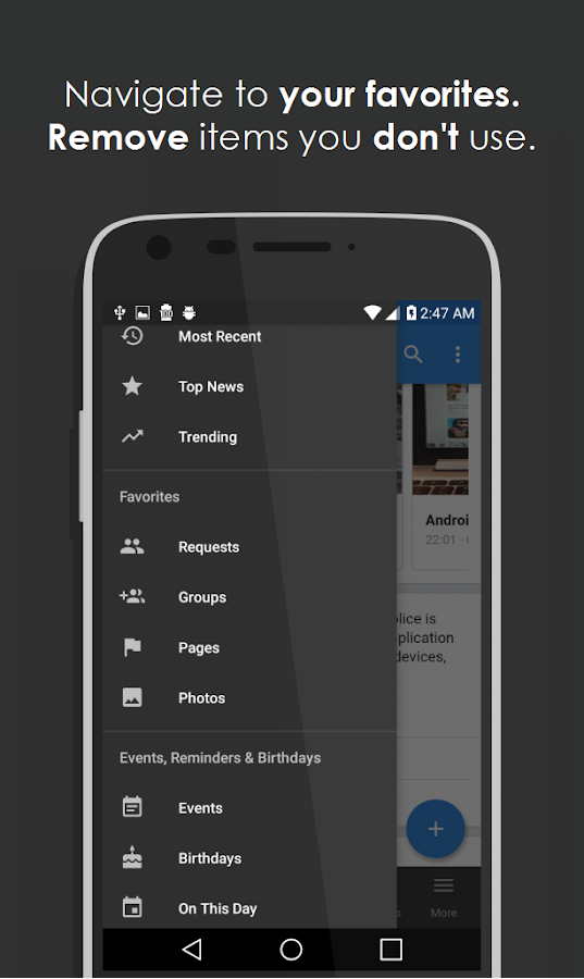 Simple for Facebook Pro – Screenshot
