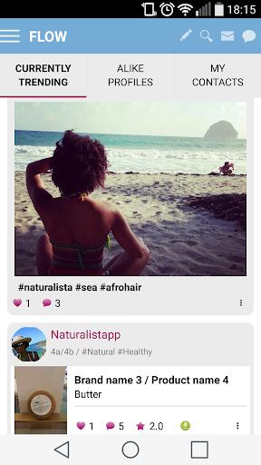 玩免費遊戲APP 下載Natural Hair Beauty Lifestyle app不用錢 硬是要APP
