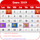 España Calendario 2019 icon