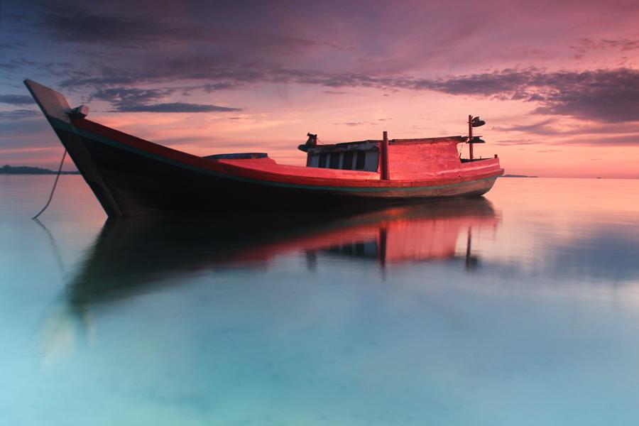 Boat Membara by Teguh Satriyo - Transportation Boats