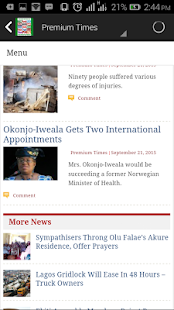 All Nigerian Newspapers - náhled