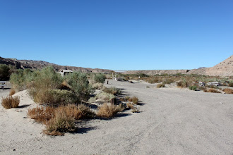 Photo: Afton Canyon campground. We had one other car in the campground for the first night, then it was deserted.