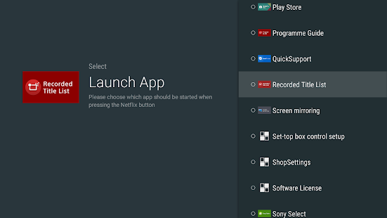 App Starter for Netflix Button- screenshot thumbnail