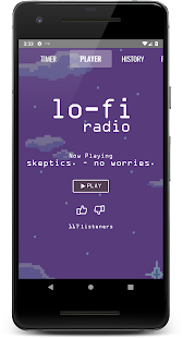 Lo-Fi Radio - Work, Study, Chill Screenshot