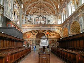 Photo: St. Maurizio's, Hall of Nuns