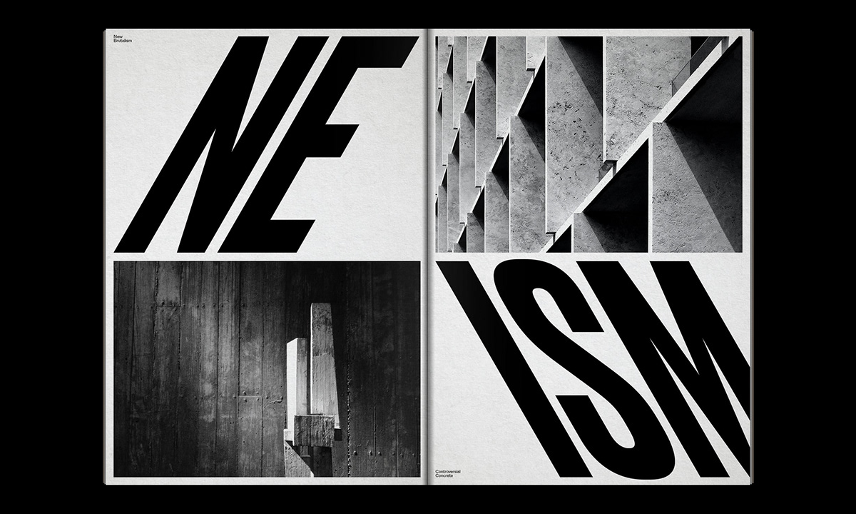 Editorial Design : New Brutalism Controversial Concrete 27
