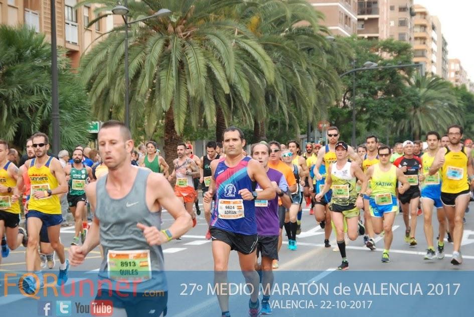 Valencia, la media maratón de los records