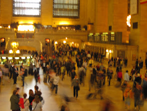 Photo: Rush hour in Grand Central Terminal