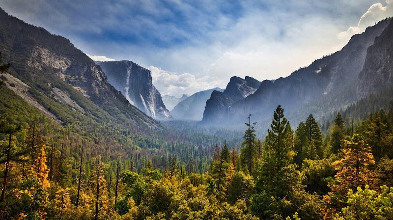 La valle dello Yosemite di Montevecchi