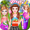 High School Girls Party icon
