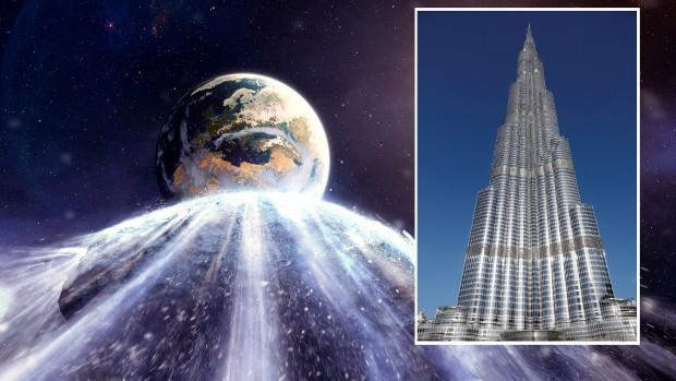 Asteroid, nearly as big as Burj Khalifa, to fly by earth today – Latest  News Headlines l Politics, Cricket, Finance, Technology, Celebrity,  Business & Gadgets