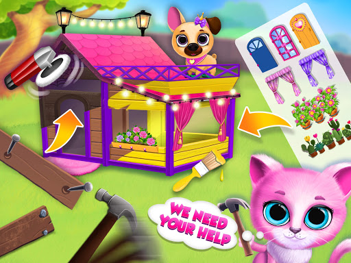 Kiki & Fifi Pet Friends - Furry Kitty & Puppy Care 2.0.98 screenshots 15