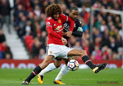Manchester United-Crystal Palace 3-0, met twee goals van Fellaini