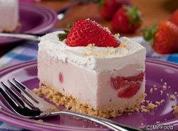 Berry Cheesecake Ice Cream Squares Recipe