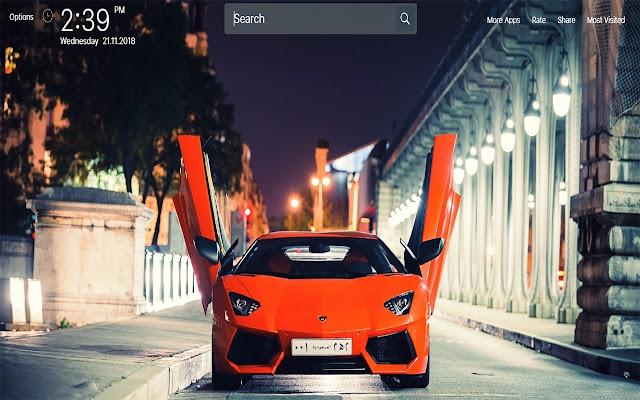 Lamborghini Wallpapers HD Theme