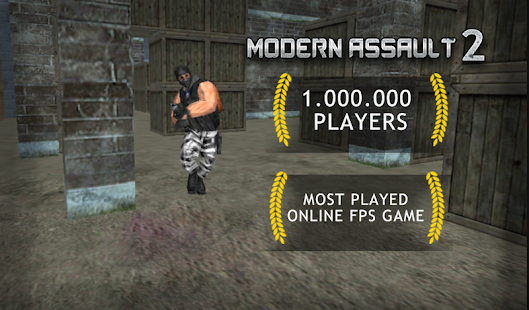 Modern Assault Strike Online - náhled