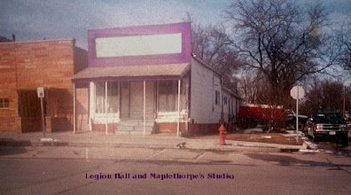 Photo: In the 1800's there was a bakery in this building. It sat at the corner of 6th and Locust. Was the home of Lee and Myra Maplethorp and her mother, Mrs. Taylor.