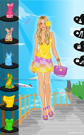 ☀Brazil vacation dress up game