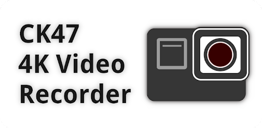 CK47 is a video recording app supporting 4K video and pro features.
