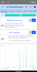 3C Network Manager Pro Apk (Pro Features Unlocked) 1
