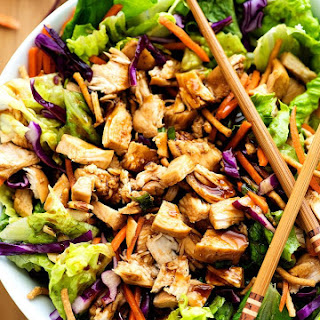 Chinese Chicken Salad.