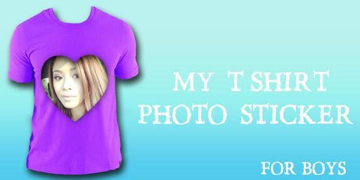 My Photo T-shirt Maker : Man