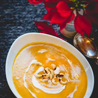 Butternut Squash Soup with Miso and Coconut