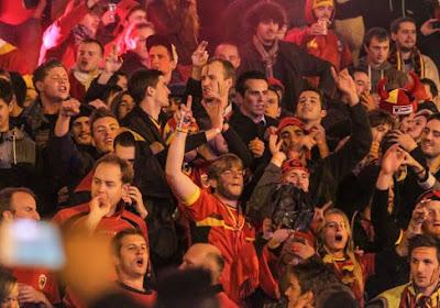 L'Union Belge de football prévient ses supporters en Ecosse
