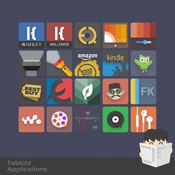 Tabloid Icon v2.3.6
