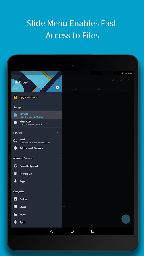 File Expert - File Manager- screenshot