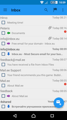 Mail.ee - screenshot