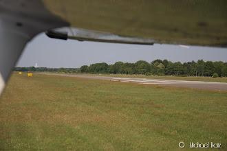 Photo: Etter landing på bane 25 på Seppe